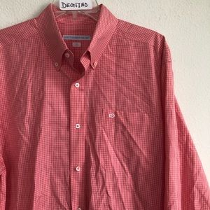 Southern Tide Tailored Fit button down LS shirt L